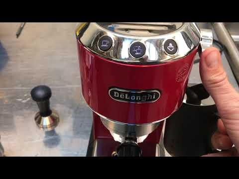 Delonghi EC680 - Dedica Review of Espresso Machine