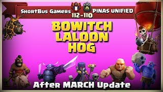 ShortBus Gamers Vs PINAS UNIFIED | TH11 War Recap #42 | Clash Of Clans | 2018 |