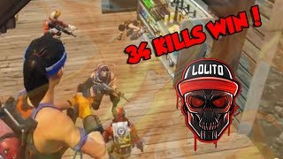 💀 ¡MI MEJOR PARTIDA, 34 KILLS WIN! 💀 ~ FORTNITE