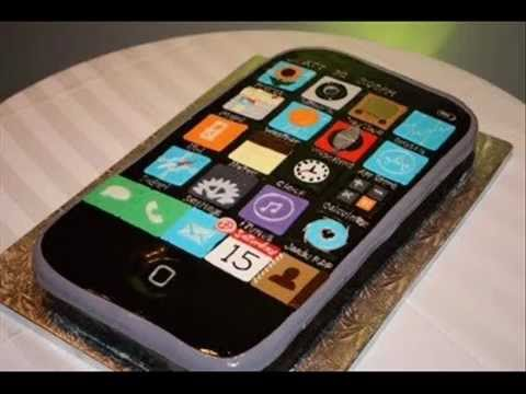 Original iPhone CakeHappy Birthday to You YouTube
