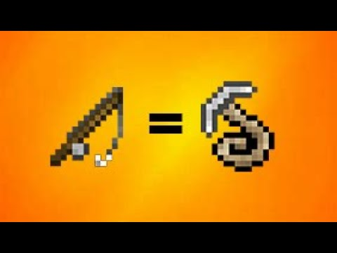 How To Make A Grapple Hook | Minecraft
