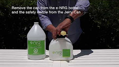 Filling your Jerry Can