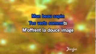 Karaoké Mon beau sapin - Christmas Carol *