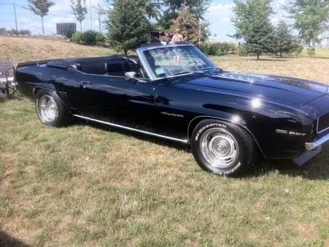 1969 rs ss camaro convertible for sale 427 425 5 speed tremec fully restored youtube. Black Bedroom Furniture Sets. Home Design Ideas