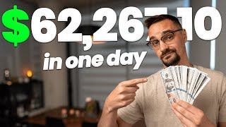 How I Made $62,267.10 Iฑ One Day (As A Software Engineer)