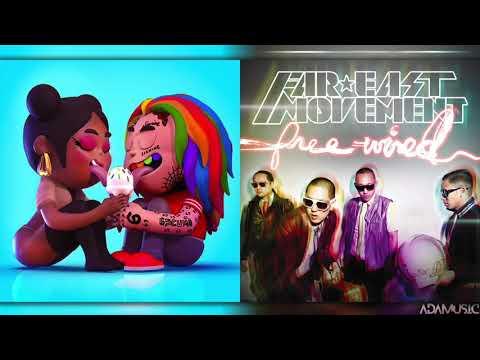 Fefe x Like a G6 ft Lady Gaga  Mashup of Nicki Minaj6ix9ineFar East Movement