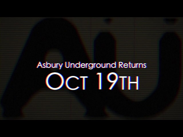 Asbury Underground returns October 19, 2019