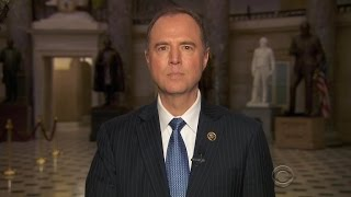 Rep. Adam Schiff reacts to Russia hearing