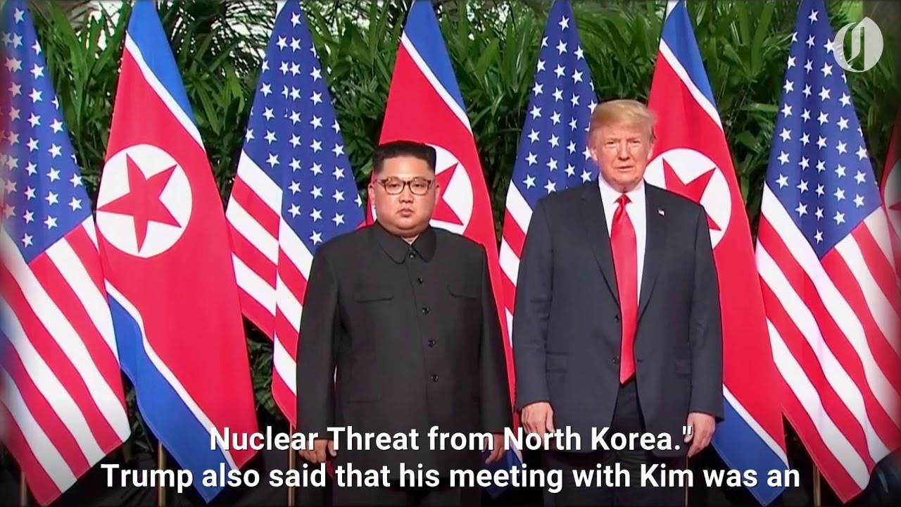Donald Trump Declares North Korea No Longer A Nuclear Threat