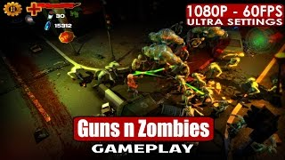 Guns n Zombies n Aliens gameplay PC HD [1080p/60fps]