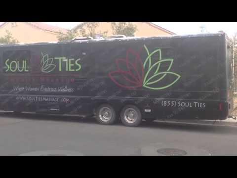 Women Massage on Wheels,  the Comfort Bus.