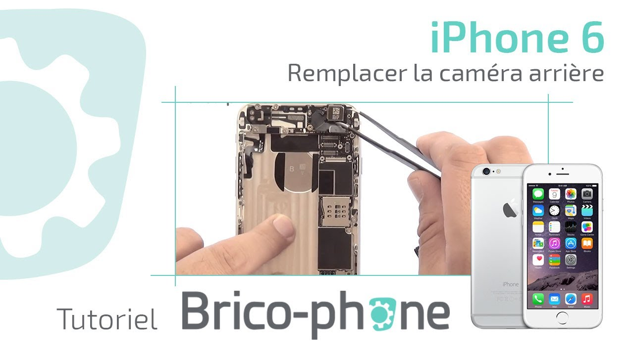 tuto iphone 6 changer la cam ra arri re d montage remontage hd youtube. Black Bedroom Furniture Sets. Home Design Ideas