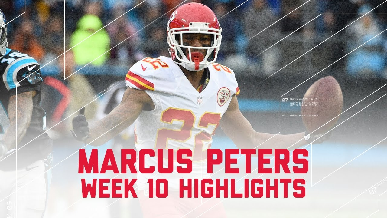 marcus peters huge day on defense chiefs vs panthers nfl week