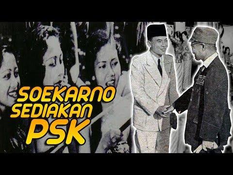 Kisah Soekarno Sediakan PSK Untuk Tentara Jepang