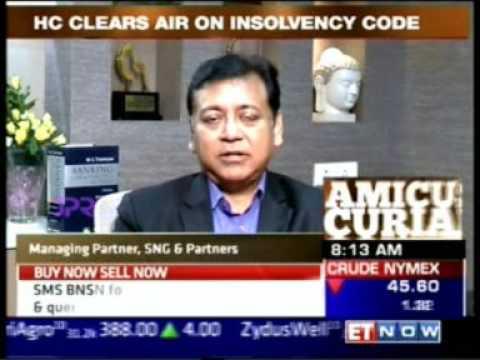ET Now Amicus Curiae 22 July 2017 24min 23sec Essar Steel Vs RBI   Dina Wadia   JSA & Mr  Rajesh Gup