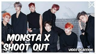 VÍDEO REEACCIÓN | MONSTA X - SHOOT OUT | WHITE WINGS K-POP