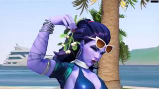 Côte D'azur Widowmaker Skin 「 Overwatch Summer Games 2017 Costume│Overwatch 」