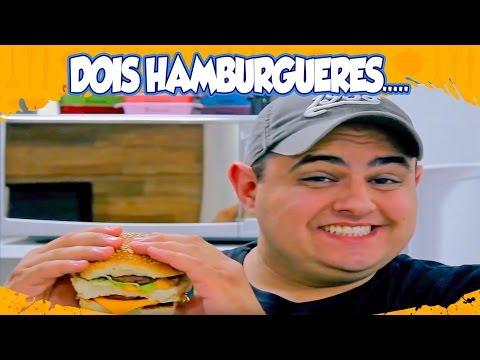 YouTube Ana Maria Brogui - Dois Hambúrgueres...