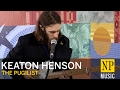 watch he video of Keaton Henson 'The Pugilist' in the NP Music studio