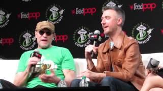 MICHAEL ROOKER & SEAN GUNN - Rooker flips out over Gilmore Girls Q's! - ECCC 2017 FULL Panel