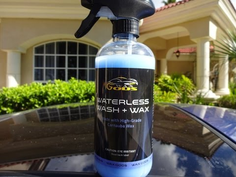 Waxgods Waterless Wash and Wax Review and Test Results on my Honda Prelude