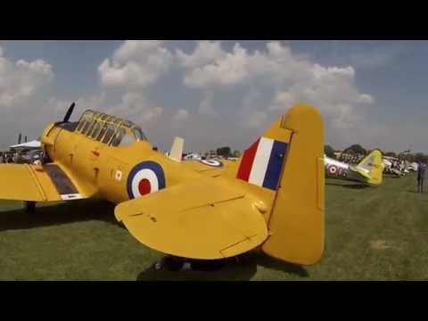North American T-6 Texan RAF