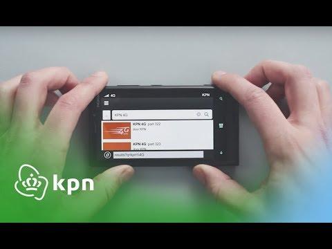 Sven Kramer in KPN's 4G schaatscommercial