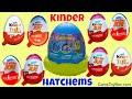 Kinder Joy Eggs Surprise Toys for Girls Boys 2017 Egg Opening Chocolate Toy Hatchems Mashems