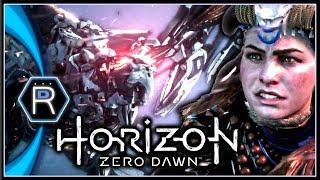 Horizon Zero Dawn - Stormbird Fight + Gaia Prime