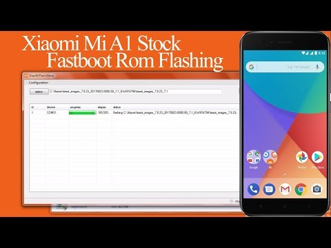 Xiaomi Mi A1 Stock Fastboot Rom Flashing| Mi A1 Unlocking | Mi A1 Unbrick