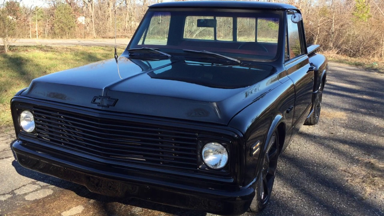 All Chevy 1969 chevy c10 for sale : 1969 Chevy C10 -Black - YouTube