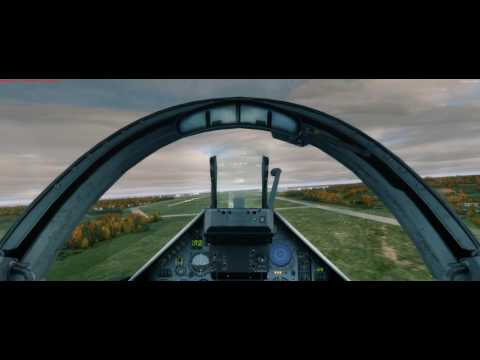 Mirage 2000C M2M landing to LFBO ( toulouse)