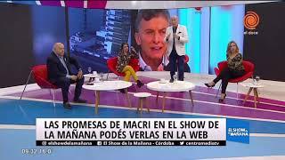 Las promesas de Macri... ¿CUMPLIÓ?