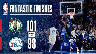 Best Plays From Overtime THRILLER: Celtics vs Sixers
