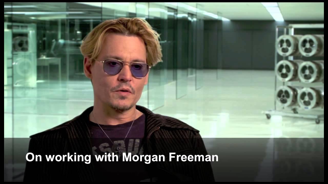 "Johnny Depp Interview - ""Transcendence"" - YouTube"