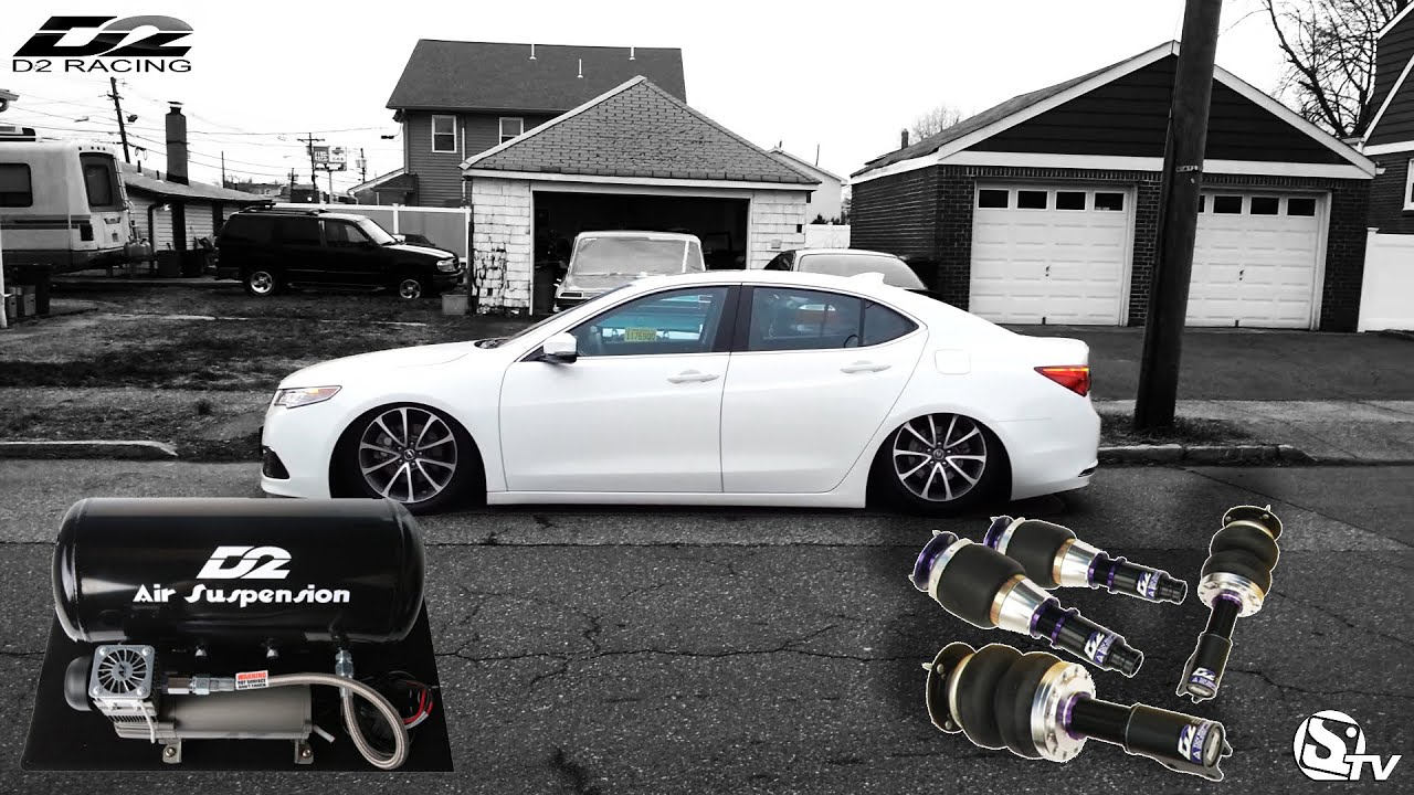 2018 Honda Accord Singapore >> How To install Air Suspension on a 2015 Acura TLX | Doovi