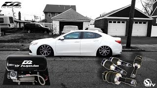 D2 Air Suspension Installation on a 2015 Acura TLX