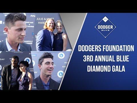 Dodgers Blue Diamond Gala