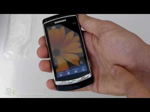 Samsung Omnia HD unboxing video