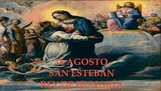 16 Agosto: San Esteban. Rey de Hungría