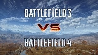 BF3 VS BF4 Cinematic - Graphics Comparison [Ultra, Slowmo n