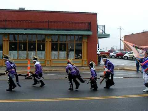"Native American Dancers,  Christmas Parade ""Historic Stockyards District"" Oklahoma City, OK. U.S.A"