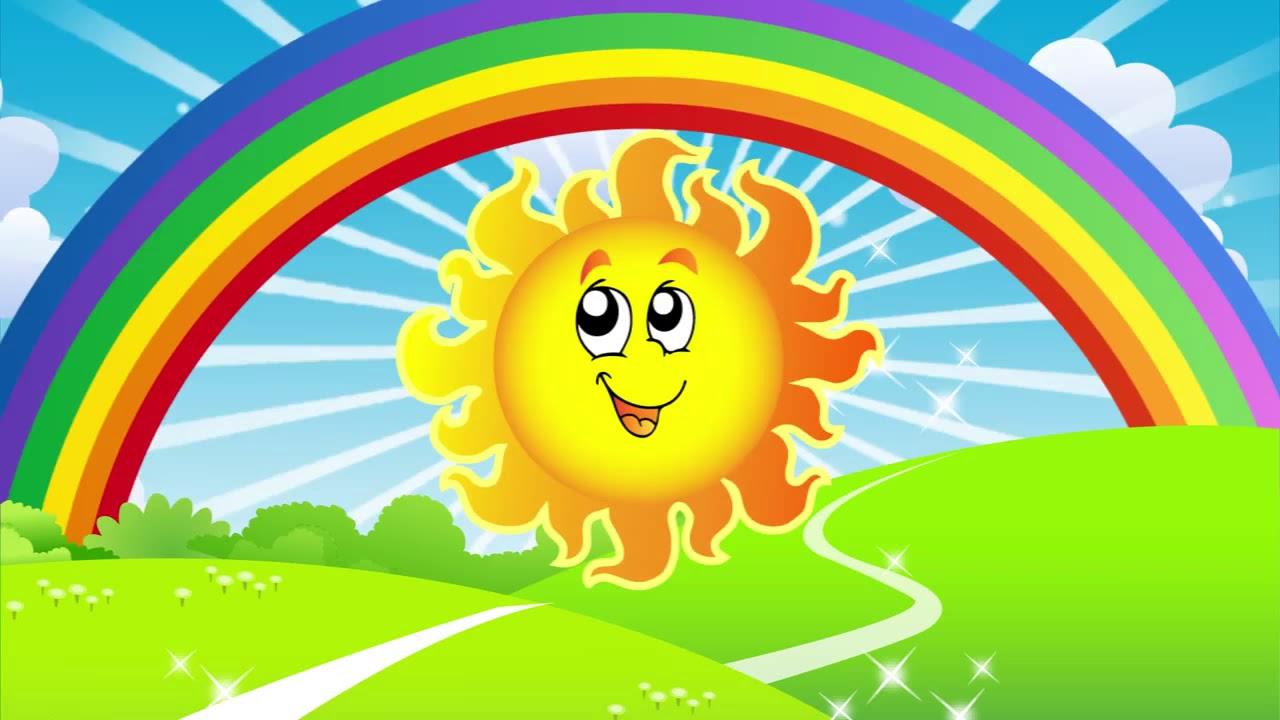 Открытки солнца и радуги