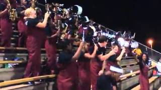 whs marching band talking out the side of your neck