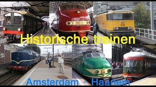 Historische treinen tussen Amsterdam en Haarlem - 20 september 2014