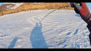 ПОЧЕМУ Я РАНЬШЕ НЕ ЛОВИЛ ЭТОЙ СНАСТЬЮ Зимняя рыбалка безкивковой безматылкой