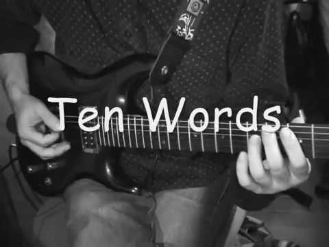 Joe Satriani - Ten Words cover
