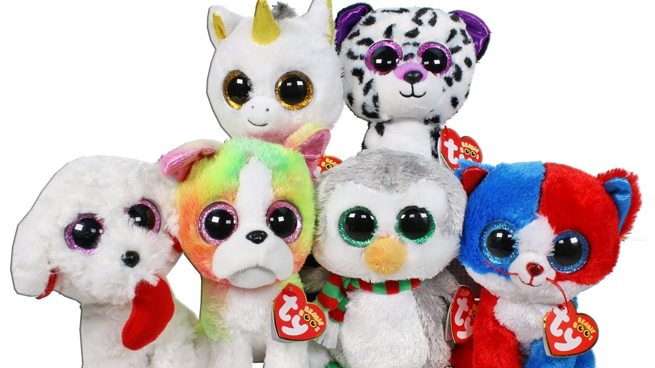 Beanie Boo Haul from Claires Unboxing Toy Review TY Beanie Boos ... 93930f4b95ad