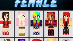 Skins de meninas para minecraft (android)