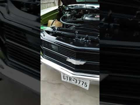 LSX 4 Door chevelle engine bay clean up